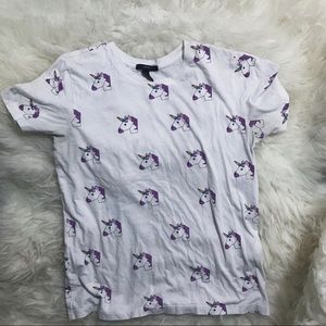 Unicorn patterned shirt!